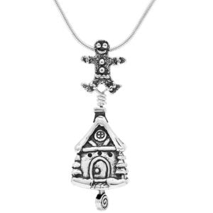 Holiday Memories Sterling Silver Pendant Necklace