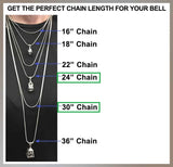 Sterling Silver Adjustable Wheat Chains   24 & 30 inches