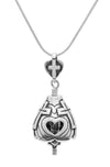 God Loves You Bell Pendant