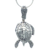 Sea Turtle Bell Pendant