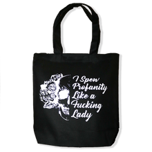 Load image into Gallery viewer, Skull Profanity Tote