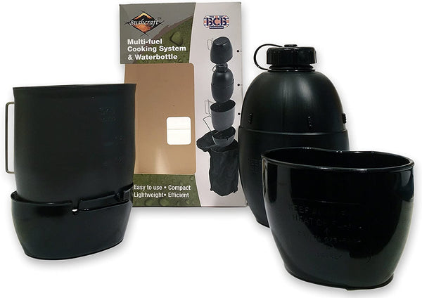 BCB Multi Fuel Cooking System Bottle Black