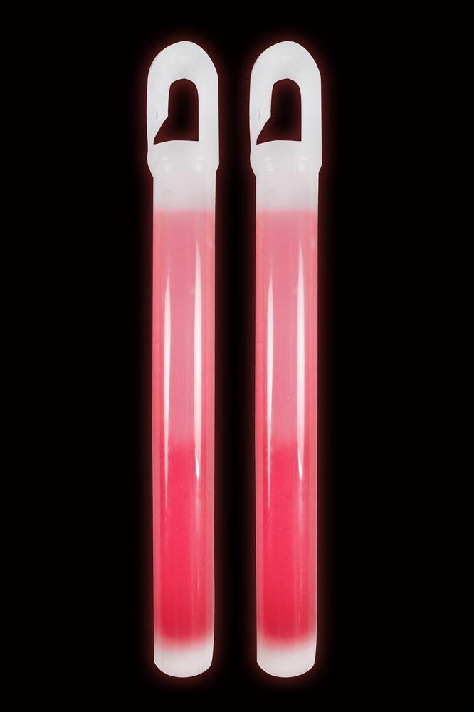 "Lumica Emergency Snaplight Lightsticks 6"" ChemLight Red"