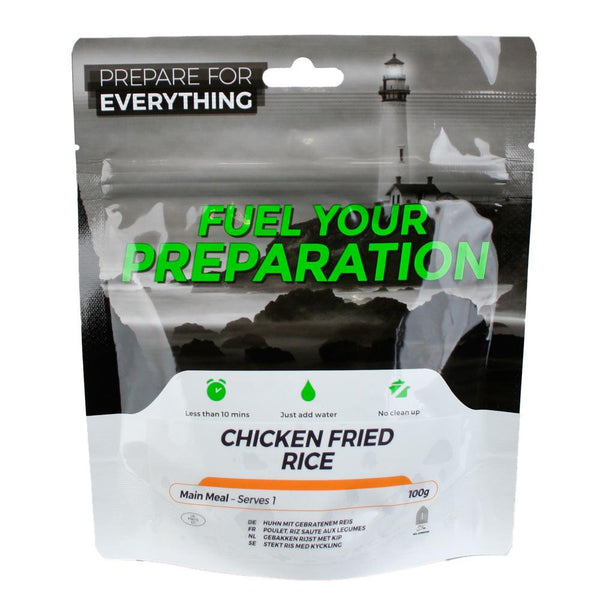 Freeze Dried Chicken Fried Rice Meal Case 12 Pouches