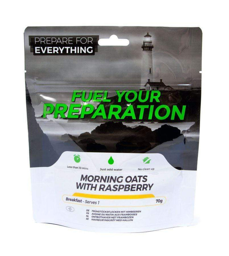 Freeze Dried Morning Oats With Raspberry Meal Case 12 Pouches