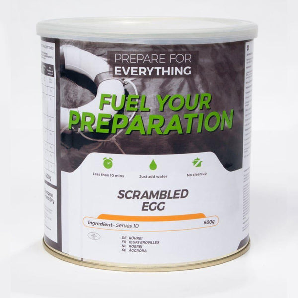 Freeze Dried Tin Rations Scrambled Egg 25 Year