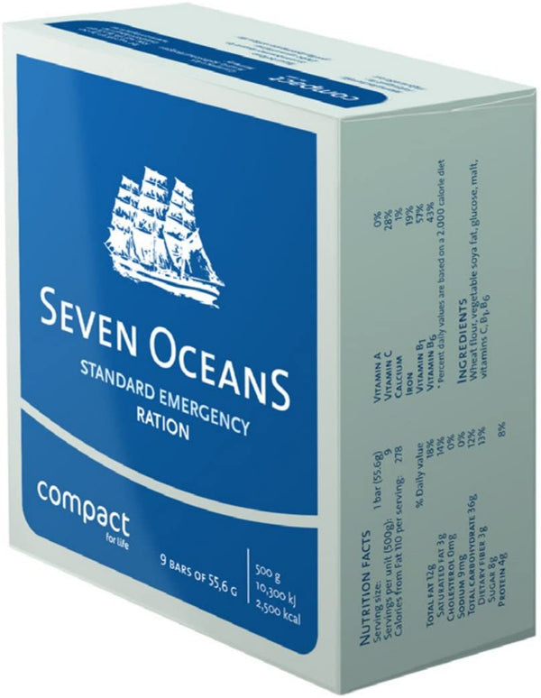 Seven Oceans Emergency Food Ration Biscuits