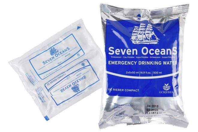 Seven Oceans Emergency Water Rations