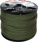 Web-Tex Paracord 100 Metre Roll Olive