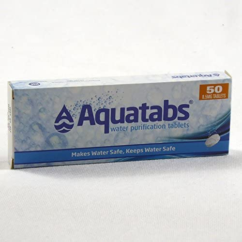 aquatabs 50 water treatment tabs