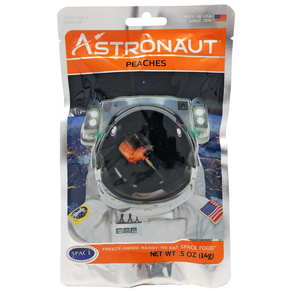 astronaut foods freeze dried peaches