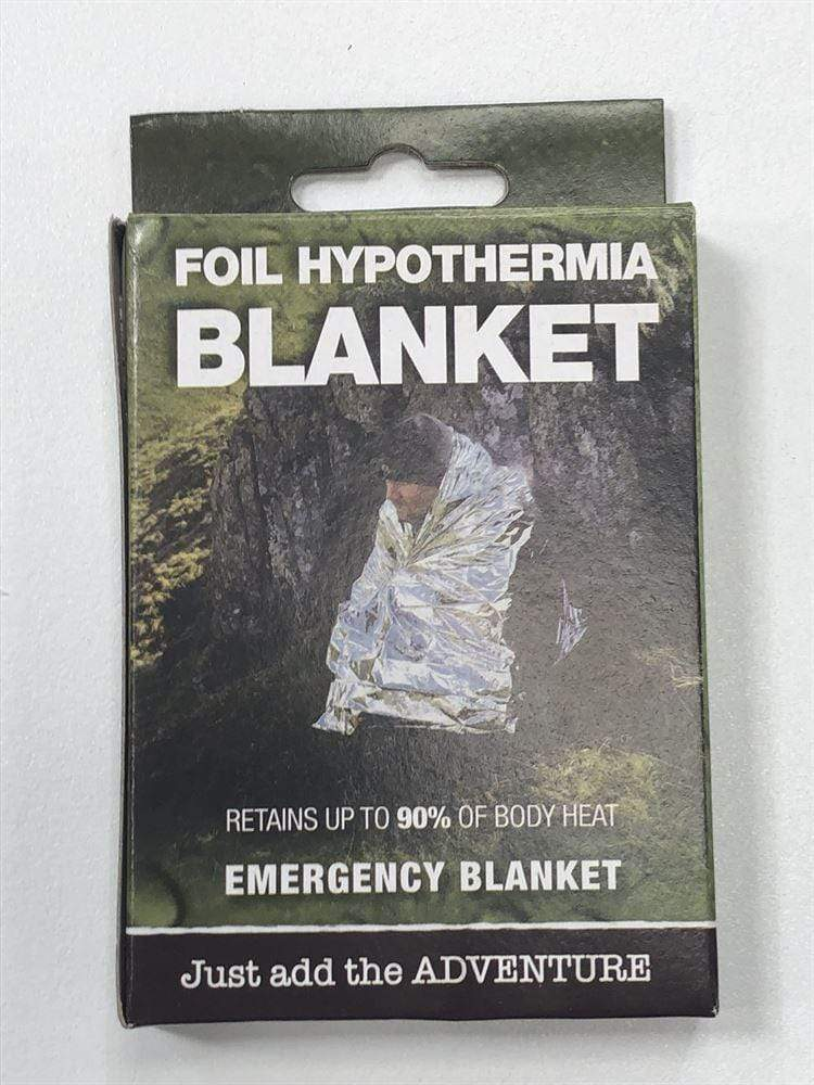 BCB Foil Space Hypothermia Blanket