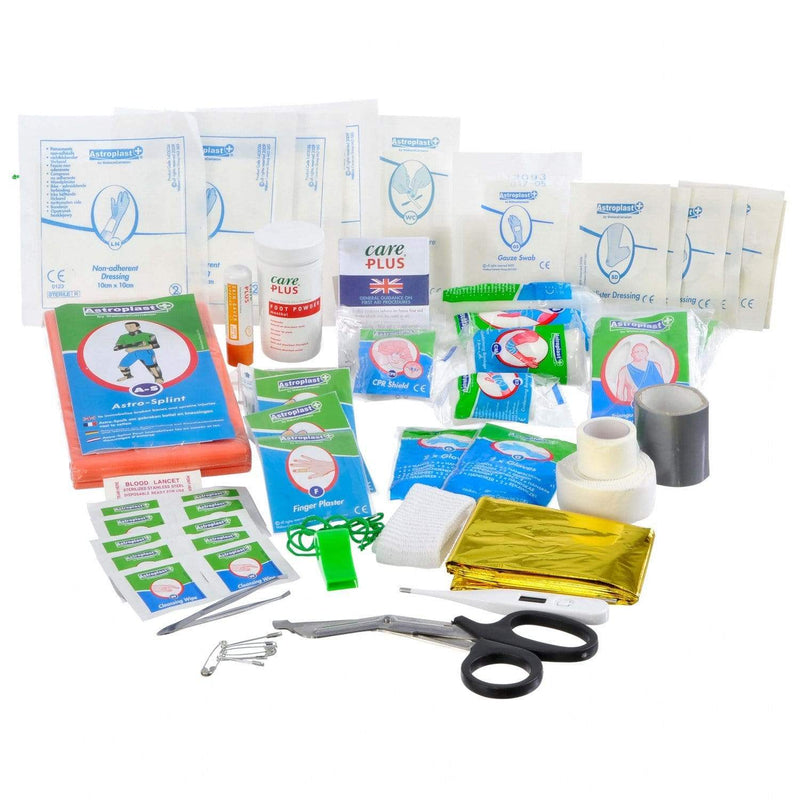 Care Plus Mountaineer First Aid Kit Contents