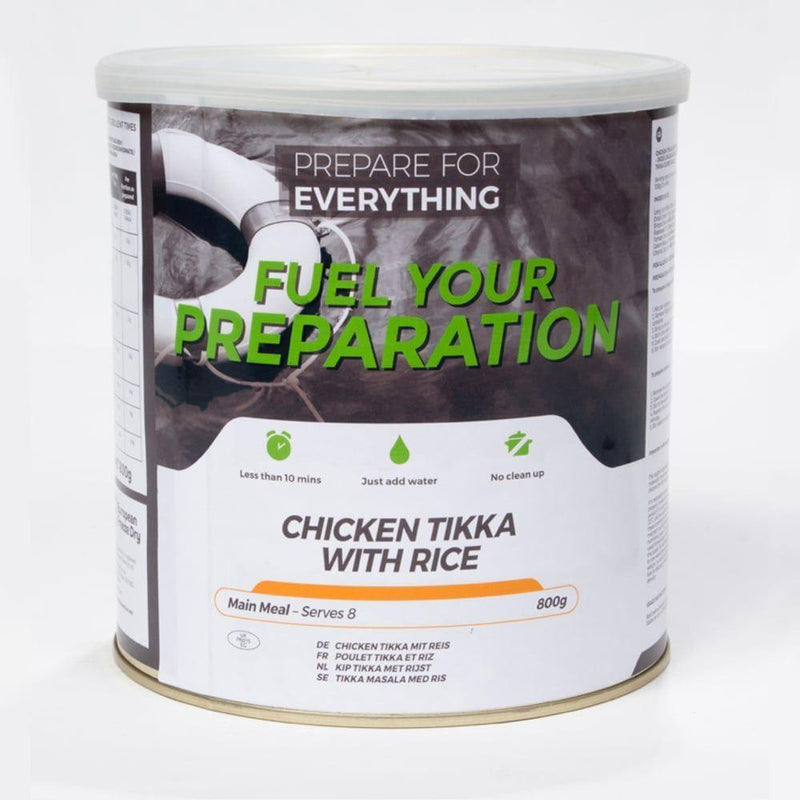 Chicken Tikka With Rice Freeze Dried Tin Rations