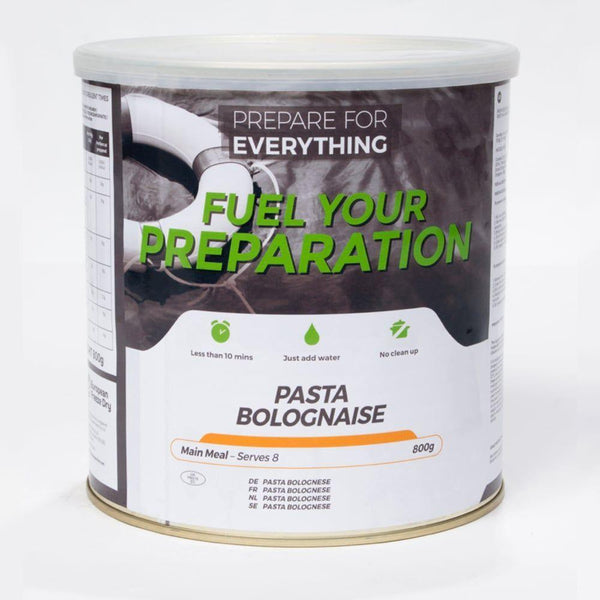 Fuel Your Preparation Pasta Bolognaise Freeze dried meals