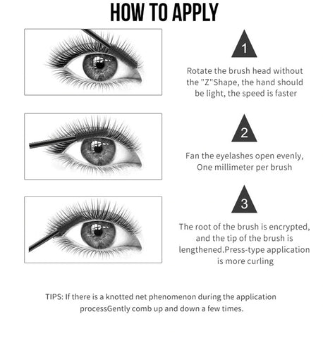how to apply 4d mascara