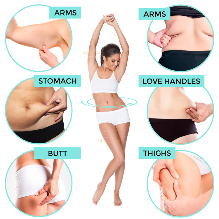 burns cellulite on all parts of the body
