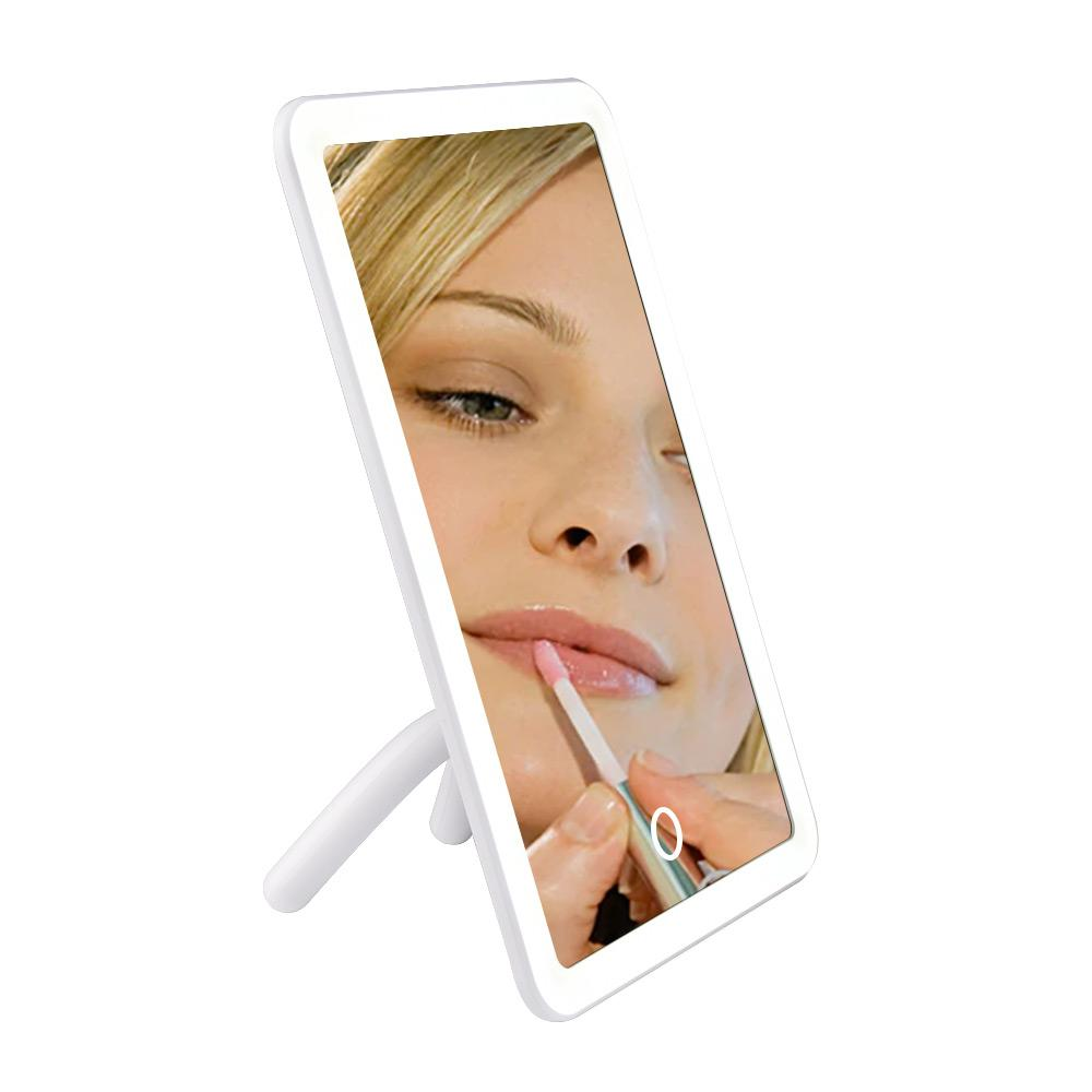 Lighted Frame Touch Makeup Mirror