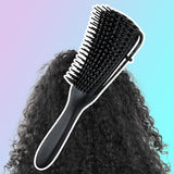 Detangle Hairbrush Scalp Comb