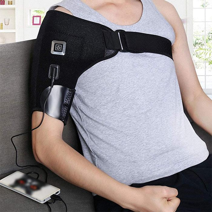 Heated Shoulder Brace Support Wrap