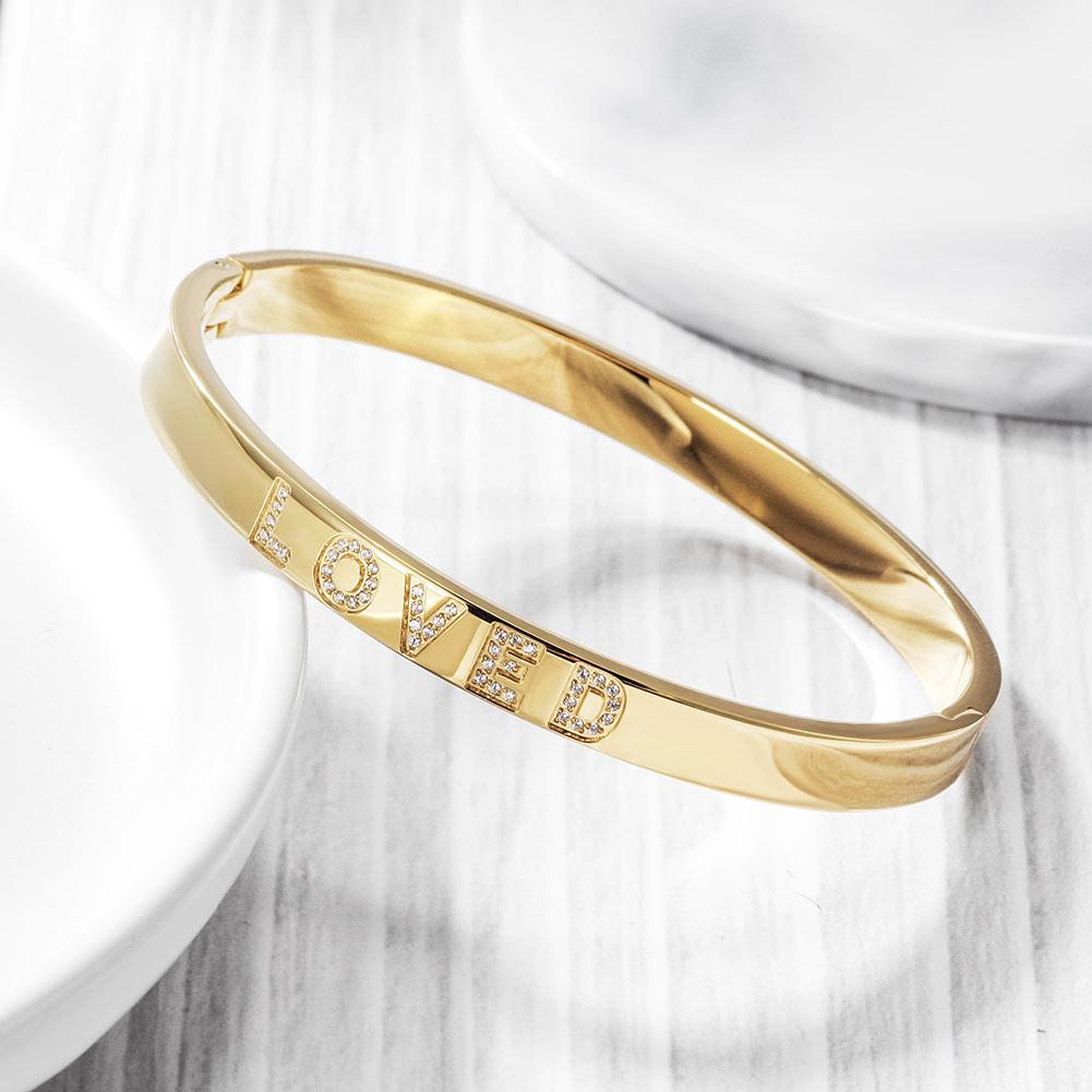 Forever Loved Bangle Bracelet