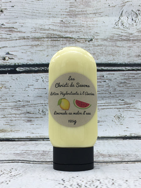 Lotion hydratante à l'avoine- Limonade Melon