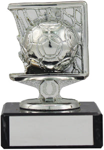 Small Silver Square Football Trophy
