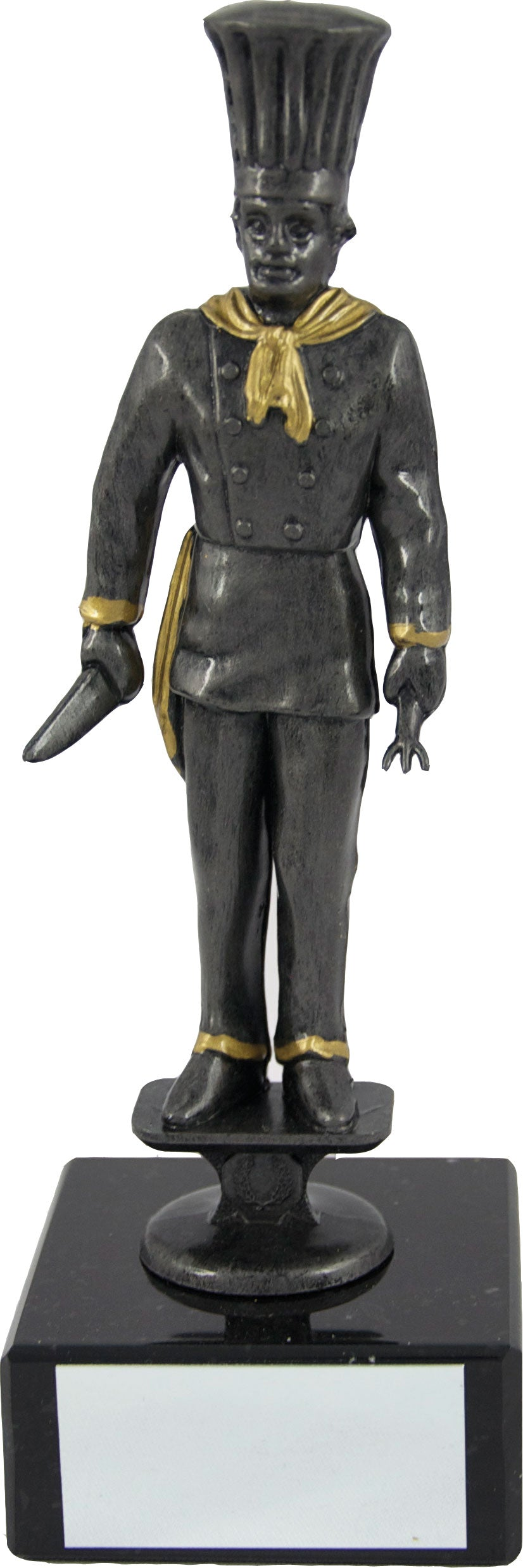 Black/Gold Chef Trophy