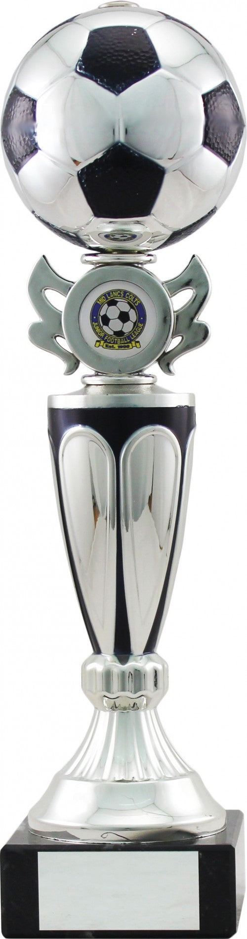 Silver Ball Football Trophy
