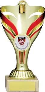 Gold/Red Trophy