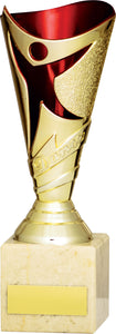 Gold/Red Cup Trophy