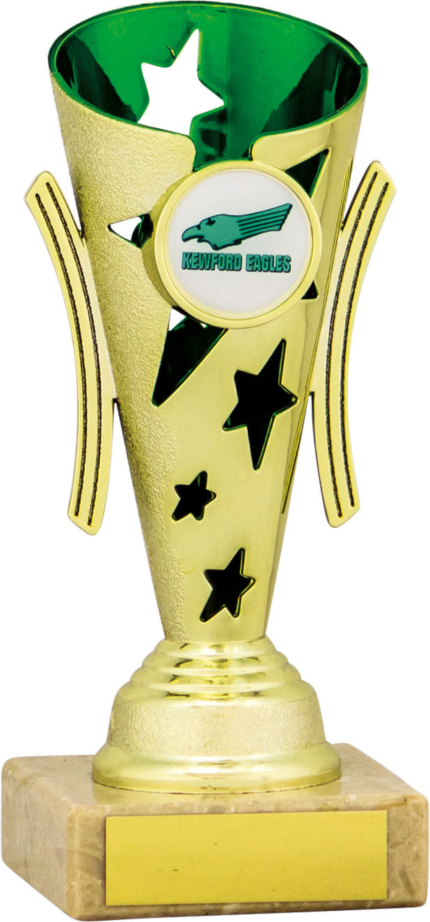 Gold/Green Cone Trophy