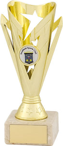 Gold/Black Column Trophy