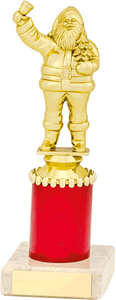 Golden Santa Clause Trophy