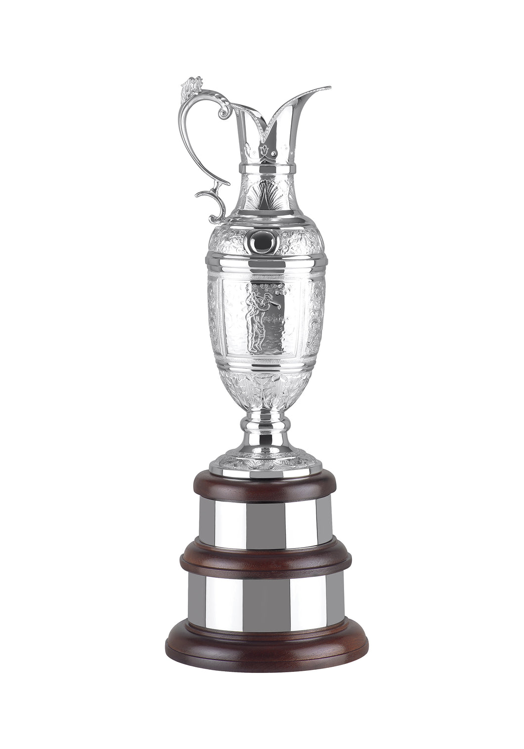 Silver Plated Ultimate Award Jug Trophy (With Engraved Detail)