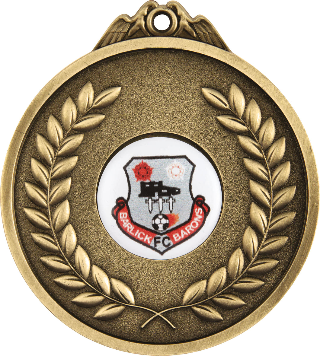 65mm Medal With Space For Centre