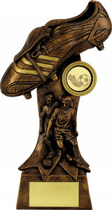 Bronze Boot Football Trophy