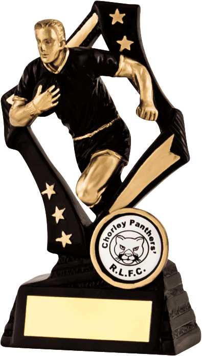 Black and Bronze Player Trophy