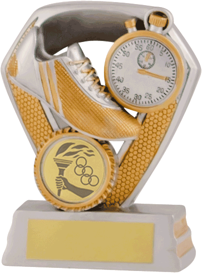 Silver Boot & Stopwatch Trophy