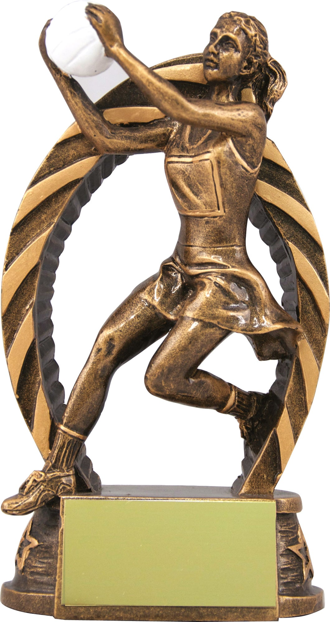 Bronze Player Netball Trophy