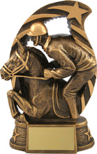 Load image into Gallery viewer, Bronze Horse & Rider Trophy