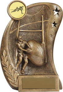 Rugby Trophy Bronze