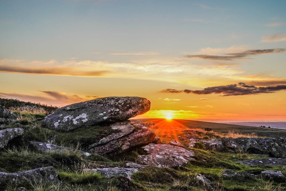 Dartmoor photography at sunset by Emily Fleur Photography