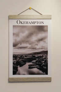 Destination Print Hanging Frame