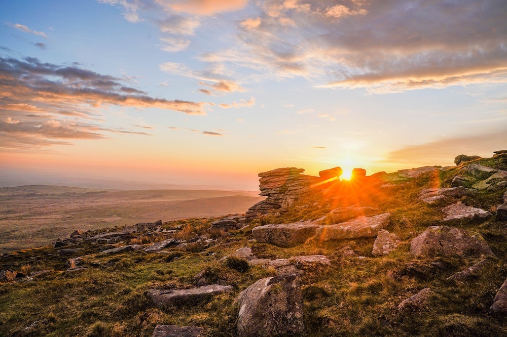 Sunrise On Dartmoor