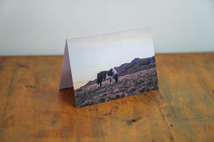 Graze At Dusk Card