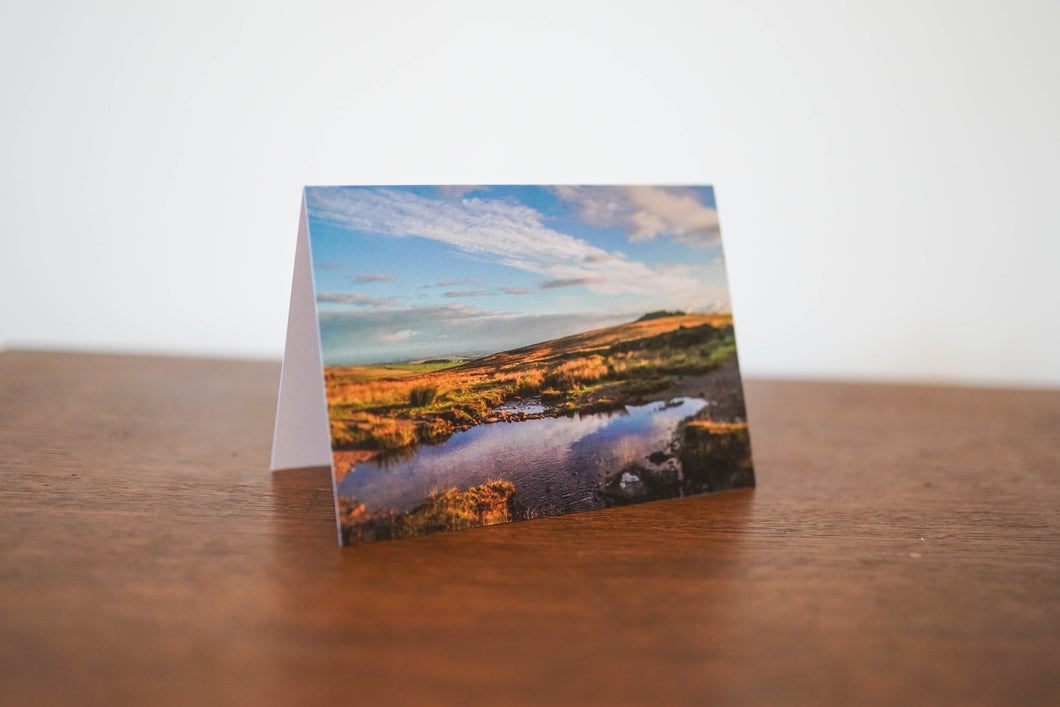 Moorland Reflection Card