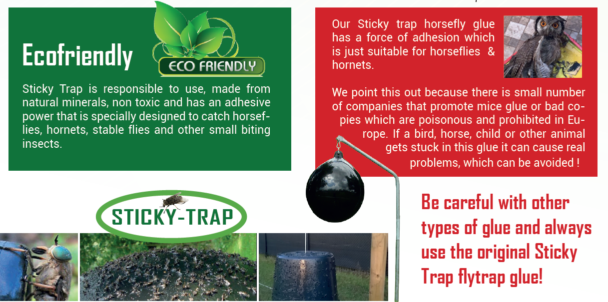 Safety flytrap Sticky Trap