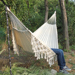Load image into Gallery viewer, Fringed Macramé Hammock