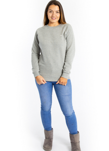 PLAIN GREY Breastfeeding Sweatshirt